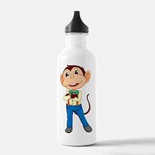 Business monkey Water Bottle