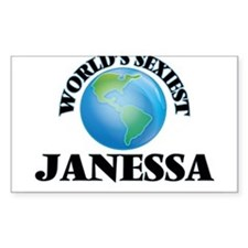 World's Sexiest Janessa Decal