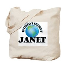 World's Sexiest Janet Tote Bag