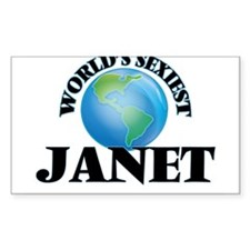 World's Sexiest Janet Decal