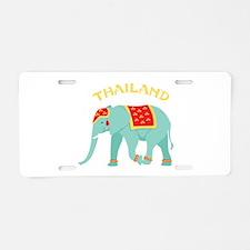 Thailand Elephant Aluminum License Plate