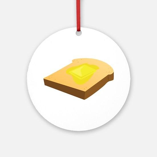 Bread Slice Ornament (Round)