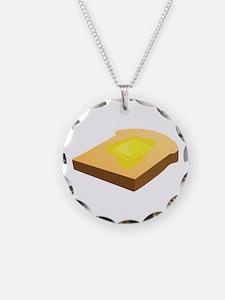 Bread Slice Necklace