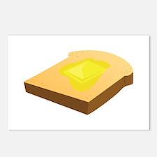 Bread Slice Postcards (Package of 8)