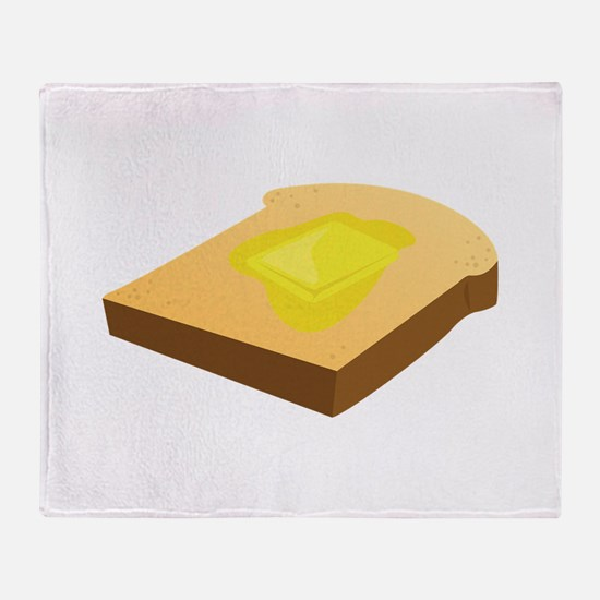 Bread Slice Throw Blanket