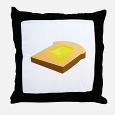 Bread Slice Throw Pillow