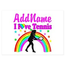 TENNIS PLAYER 5x7 Flat Cards