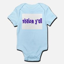 JEWISH SHALOM Y'ALL Infant Bodysuit