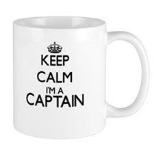 Keep calm I'm a Captain Mugs
