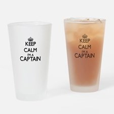 Keep calm I'm a Captain Drinking Glass