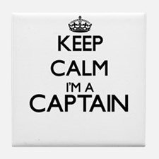 Keep calm I'm a Captain Tile Coaster
