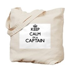 Keep calm I'm a Captain Tote Bag