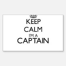 Keep calm I'm a Captain Decal