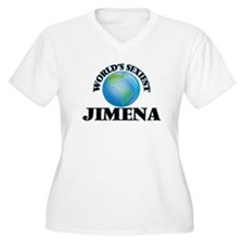 World's Sexiest Jimena Plus Size T-Shirt