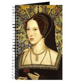 Anne boleyn Journals & Spiral Notebooks