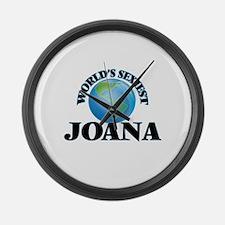 World's Sexiest Joana Large Wall Clock