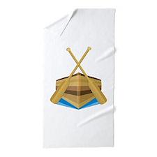 Row Boat Beach Towel