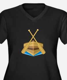Row Boat Plus Size T-Shirt