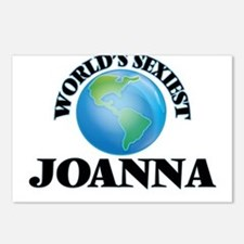 World's Sexiest Joanna Postcards (Package of 8)