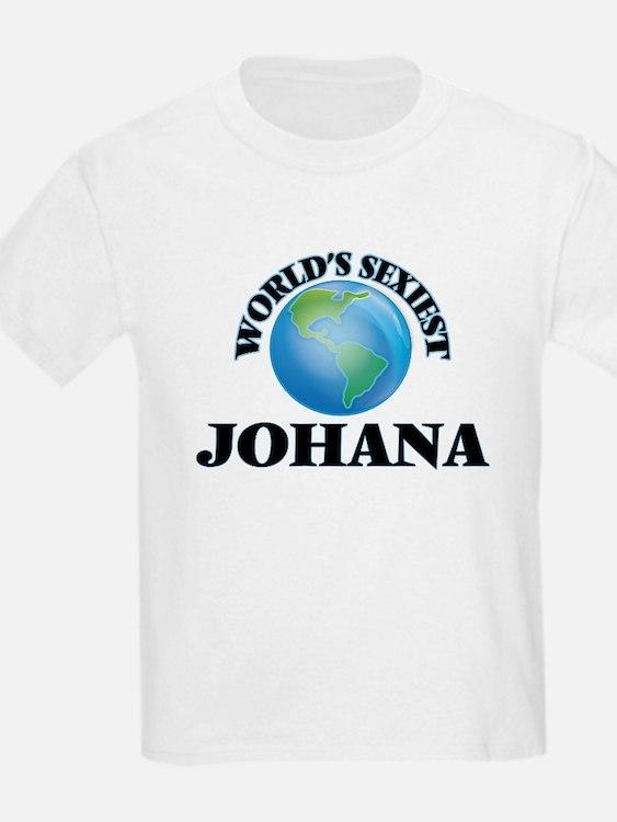 World's Sexiest Johana T-Shirt