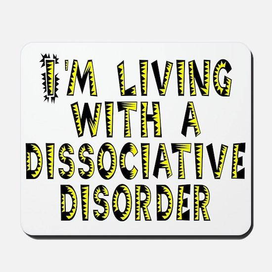Dissociative disorder - Mousepad