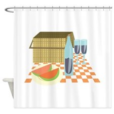 Picnic Lunch Shower Curtain