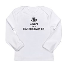 Keep calm I'm a Cartographer Long Sleeve T-Shirt