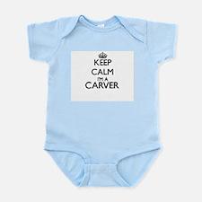 Keep calm I'm a Carver Body Suit