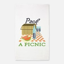 Pack A Picnic 3'x5' Area Rug