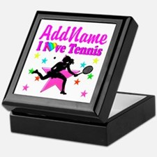 TENNIS PLAYER Keepsake Box