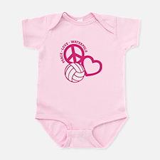 PEACE-LOVE-WATERPOLO Infant Bodysuit