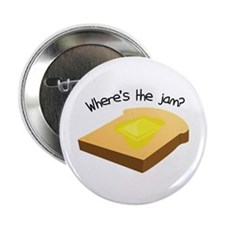 "Where's the Jam 2.25"" Button (100 pack)"