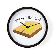 Where's the Jam Wall Clock