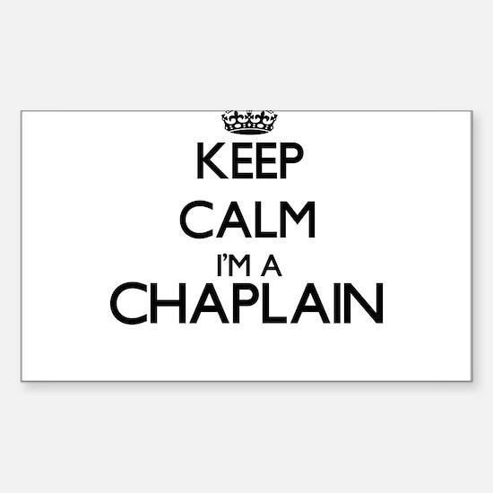 Keep calm I'm a Chaplain Decal