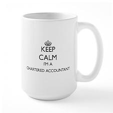Keep calm I'm a Chartered Accountant Mugs