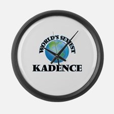World's Sexiest Kadence Large Wall Clock