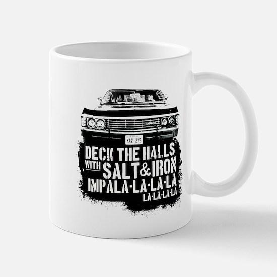 Supernatural Christmas T-Shirt (Deck the Hall Mugs