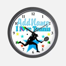 TENNIS POWER Wall Clock