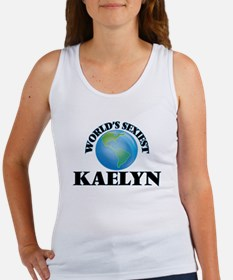 World's Sexiest Kaelyn Tank Top
