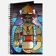 Dhanvantari Stained Glass Panel Journal