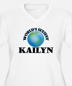 World's Sexiest Kailyn Plus Size T-Shirt