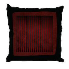 Velvet Stripes On Suede Throw Pillow