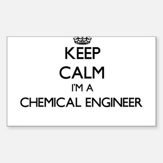Keep calm I'm a Chemical Engineer Decal