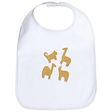 Animal Crackers Bib