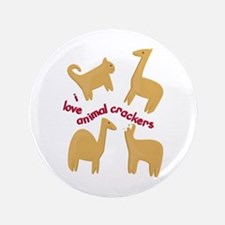 """Love Animal Crackers 3.5"""" Button"""