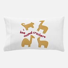 Love Animal Crackers Pillow Case
