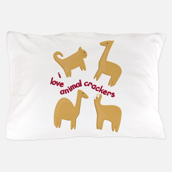 Love Animal Crackers Pillow Case