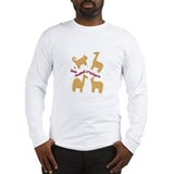Animal crackers Long Sleeve T-shirts