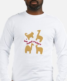 Love Animal Crackers Long Sleeve T-Shirt
