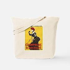 Champagne de Rochegre; Vintage Art Tote Bag